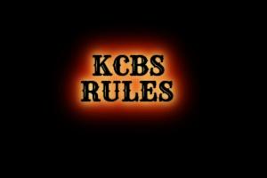 KCBS Rules